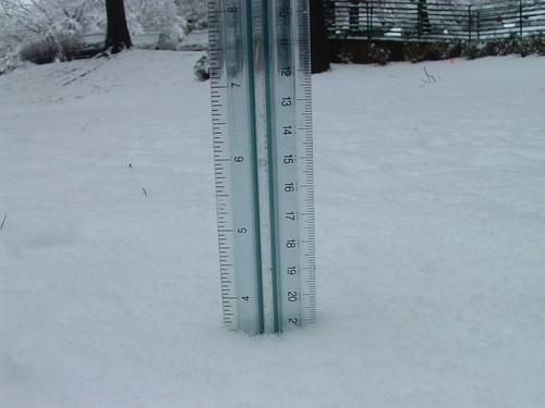 Snowfall total