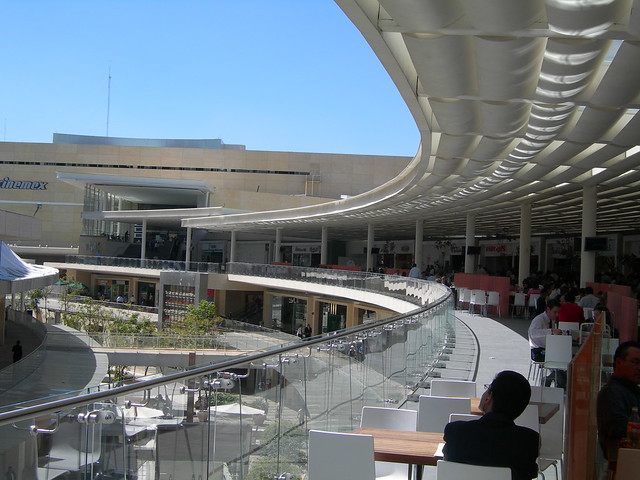 Mall in Polanco, Mexico City