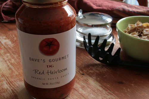 10 Things: Dave's Gourmet Red Heirloom Organic Pasta Sauce