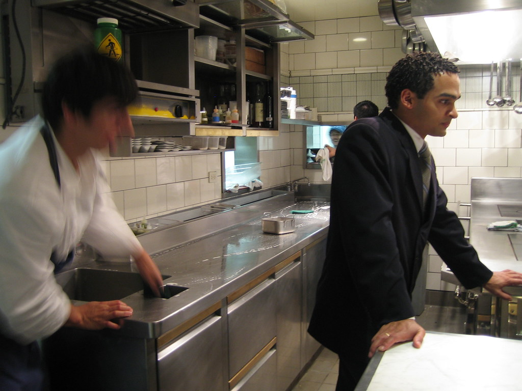 My impression in 2005 and a story involving our  table captain, Zion Curiel that resulted in a kitchen tour