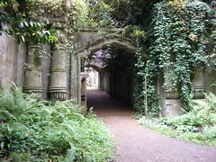 Egyptian Arcade, Highgate Cemetery
