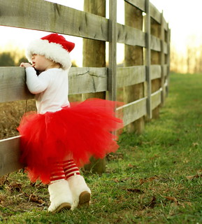 -Tippy Toeing in her Tutu-