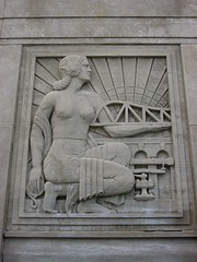 Bas Relief by Scipione Del Campo, a Chicago architect