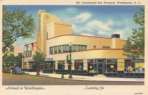 Greyhound Bus Terminal, Downtown, Washington