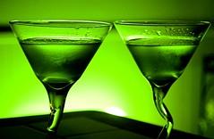 wine, distilled beverage, glass, green, drink, cocktail, martini, alcoholic beverage,