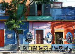 La Boca streets