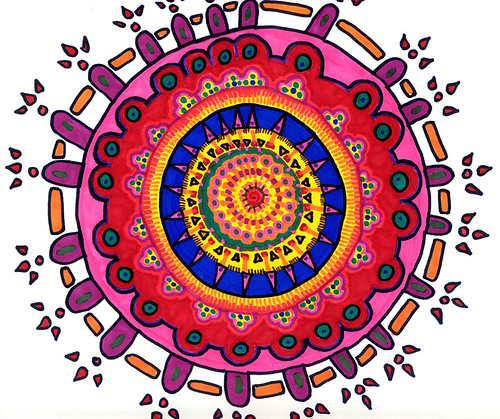 010607 Prismacolor Meditation Mandala