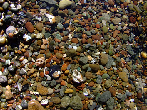 Monstone beach pebble pool