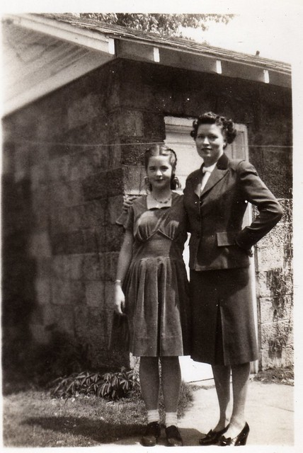 Mother & Daughter - Vintage (1930's)