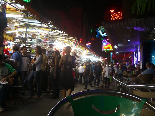 Patpong Market by night