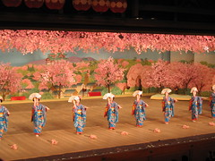 Cherry dance in Kyoto: 京都, 都をどり 4
