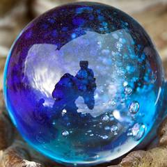 jewellery(0.0), crystal(0.0), liquid bubble(1.0), purple(1.0), sphere(1.0), cobalt blue(1.0), blue(1.0),