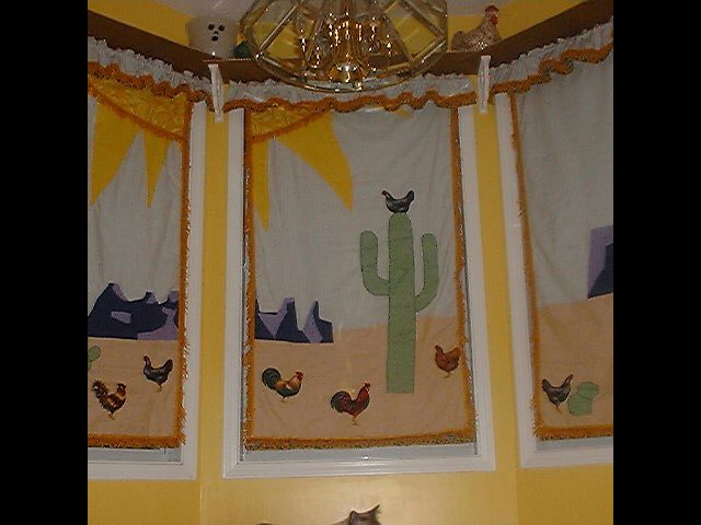 curtain kitchen southwest curtain design