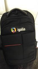 New Igalia's backpack by Andrés Gómez on 13/12/2016