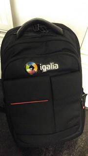 New Igalia's backpack