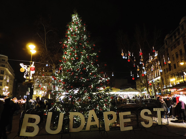 Vörösmarty Square, Budapest, Hungary