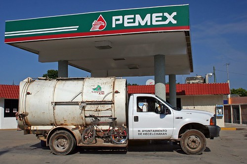 Mexican petrol station