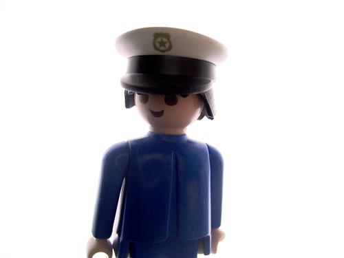Cop playmobile