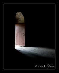 FRANCE - Carcasonne - Doorway into the light