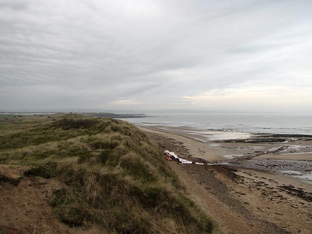 High Hauxley Beach, Northumberland
