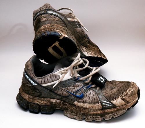 Il lavaggio delle scarpe da ginnastica