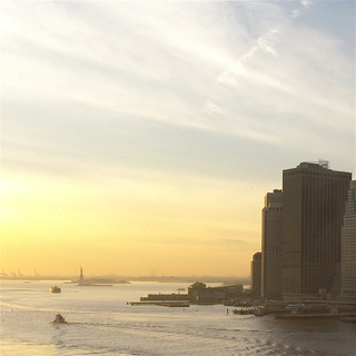 from the Brooklyn Bridge: Statue of Liberty