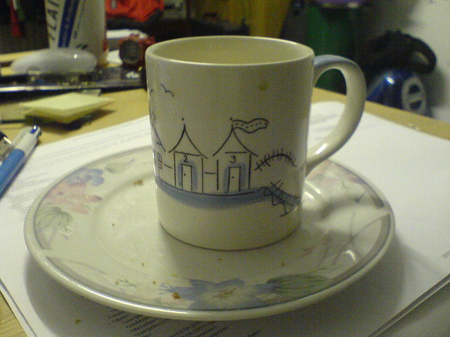 Tea cup (empty)   Flickr - Photo Sharing!