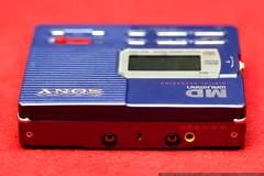 sony mz r90 minidisc recorder   top view   power con…