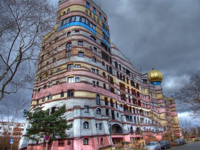 """Hundertwasserhaus """"Waldspirale"""" in Darmstadt"""
