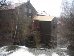 Akerselva Waterfall
