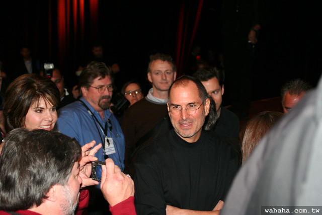 Steve Jobs & Steve Wozniak @ Macworld Expo 2007 Keynote