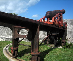 cannon at fort fincastle