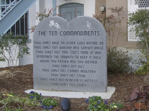 10 Commandments House near Supreme Court