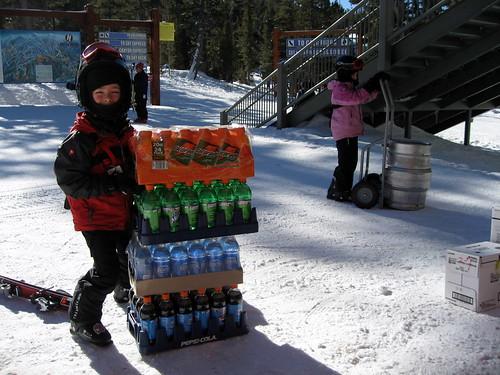 tahoe, 2007, kids, soda, keg, dolly, snow, … IMG_0184