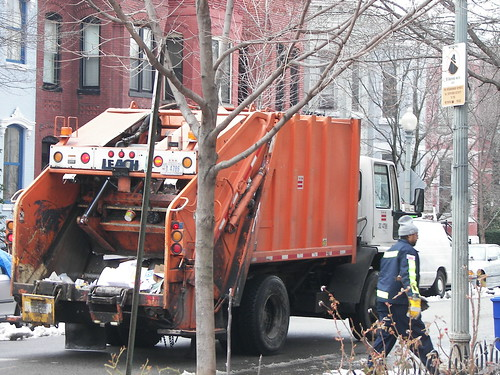 DC Sanitation - Trash - Garbage Truck