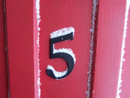 Five by Sandra Regina