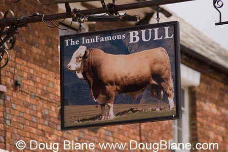 "© Doug Blane Bull Inn at Stony Stratford Milton Keynes famous for the phrase ""cock and bull story"" by MtnPix"