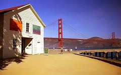 San Francisco - Golden Gate Bridge & Tool Shed