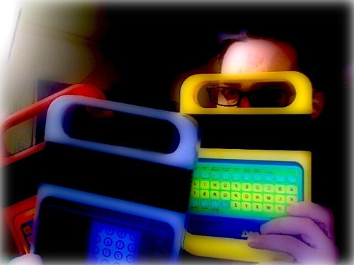 Speak n Spell - Daily Self Portrait - December 22, 2006