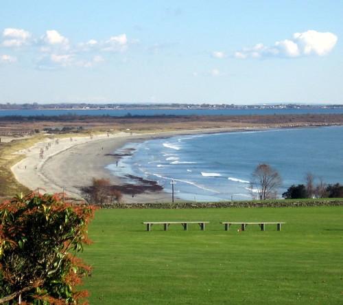ocean beach stgeorges rhodeisland middletown seashore atlanticocean boardingschool