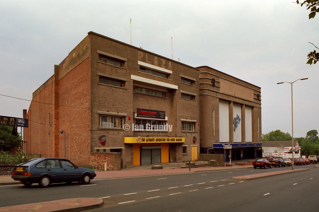 Cinema Dudley Listed Building