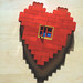Roughened Lego Heart