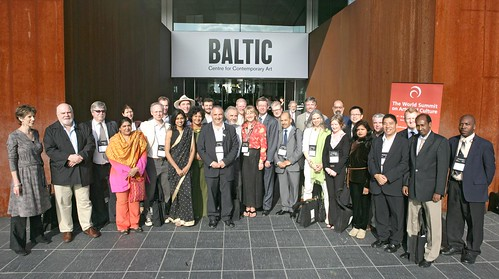 World Summit delegates at the BALTIC Contemporary Arts Centre, Gateshead