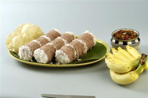 Kerala Foods - Puttu