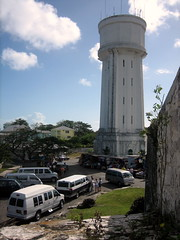 water tower at fort fincastle