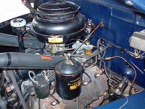 E D C on Ford Flathead V8 Distributor