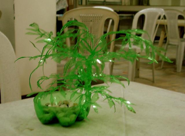 plastic bottle art art made from plastic bottles water bottle art ...