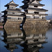 Reflection: Matsumoto Castle: 松本城 by mboogiedown