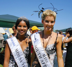 Pair of Miss South Africa's