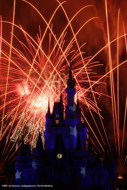 Disney Fireworks 14